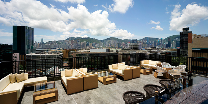 Outdoor of Uptop Bistro & Bar, Tsim Sha Tsui, Hong Kong