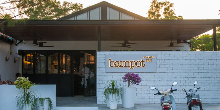 Outdoor of Bampot Kitchen & Bar in Cherngtalay, Phuket, Thailand