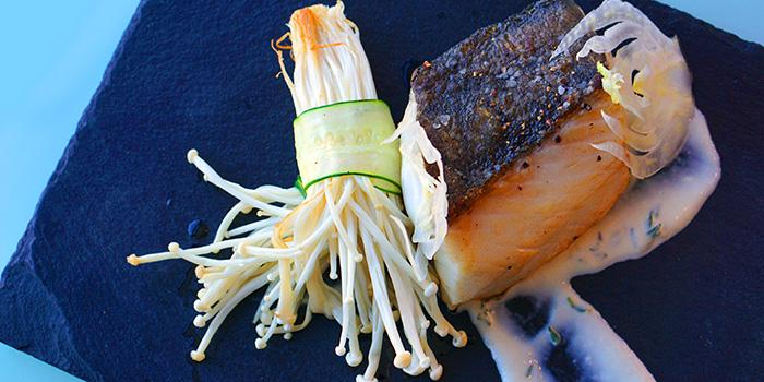 Pacific Black Cod, Uptop Bistro & Bar, Tsim Sha Tsui, Hong Kong