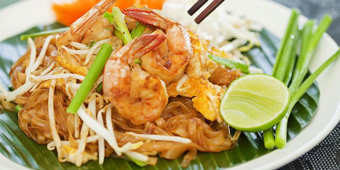 Pad Thai from Beach Restaurant in Cherngtalay, Thalang, Phuket, Thailand
