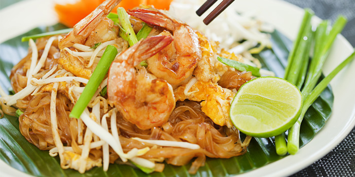 Pad Thai from Beach Restaurant in Cherngtalay, Thalang, Phuket, Thailand