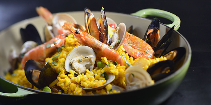 Paella, Three on Canton, Tsim Sha Tsui, Hong Kong