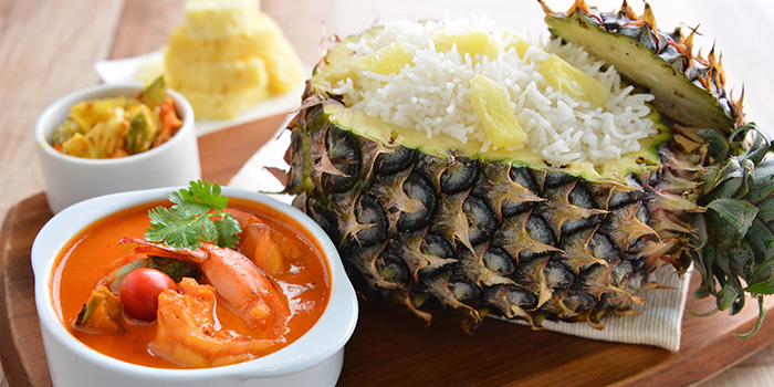 Pineapple Rice from Apolo Bistro in Little India, Singapore