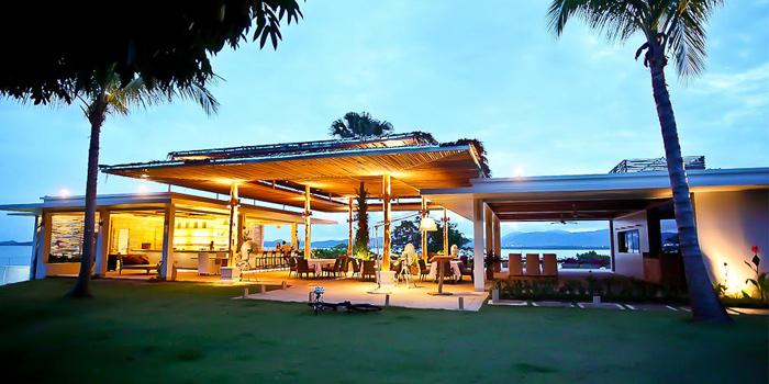 Restaurant Exterior of Breeze at Cape Yamu in Paklok, Thalang, Phuket, Thailand
