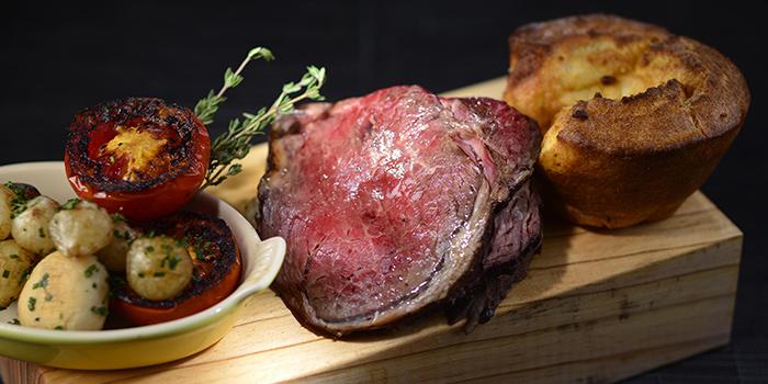 Roasted Rib Eye Beef, Three on Canton, Tsim Sha Tsui, Hong Kong