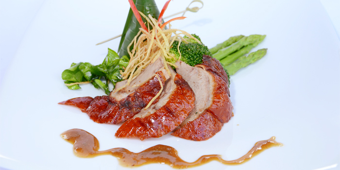 Roasted Duck from Silk Restaurant and Bar in Kamala, Kathu, Phuket, Thailand