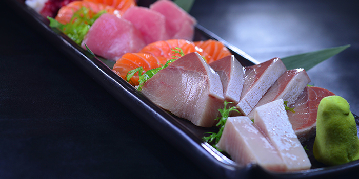 Sashimi, Three on Canton, Tsim Sha Tsui, Hong Kong