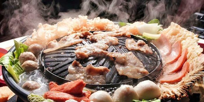 BBQ Plate from Siam Square Mookata (Boon Lay) at Boon Lay Shopping Centre in Jurong, Singapore