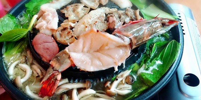 Seafood from Siam Square Mookata (Boon Lay) at Boon Lay Shopping Centre in Jurong, Singapore