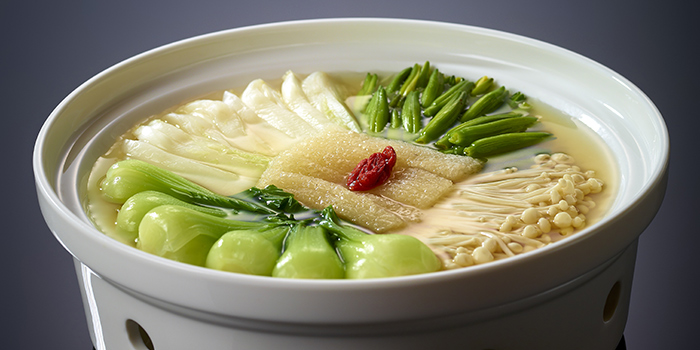 Simmered Vegetables in Superior Soup, Crystal Jade Jiang Nan, Wan Chai, Hong Kong