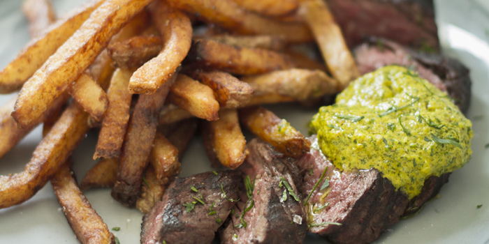 Steak Frites from Roast at The COMMONS, Bangkok