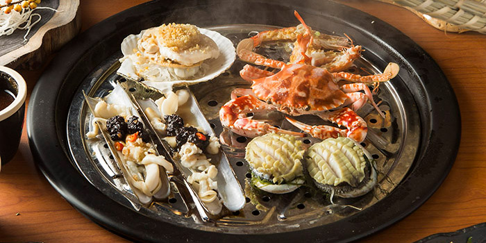 Steam Seafood, The Drunken Pot, Causeway Bay, Hong Kong
