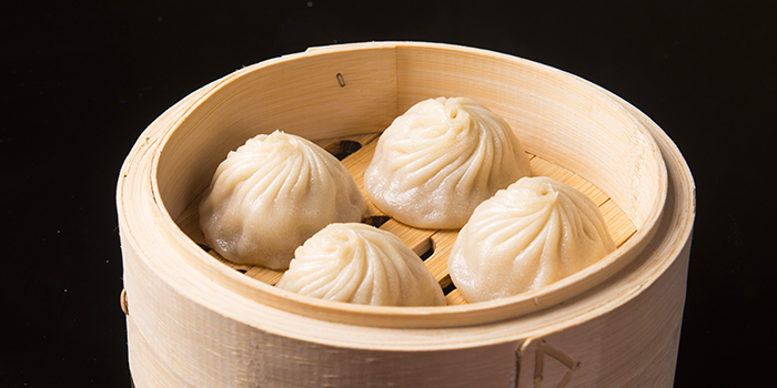 Steamed Black Guinea Pork Dumplings, Crystal Jade Jiang Nan, Wan Chai, Hong Kong
