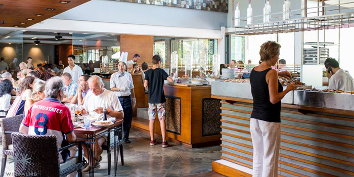 Sunday Brunch Atmosphere of Oriental Spoon at Twinpalms Phuket, Phuket, Thailand
