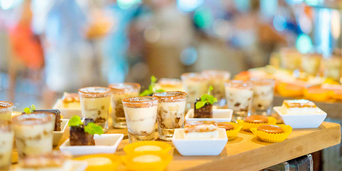 Sunday Brunch Desserts from Oriental Spoon at Twinpalms Phuket, Phuket, Thailand