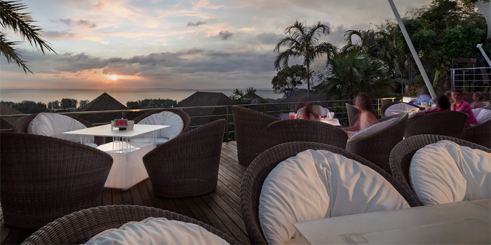 Sunset of 360° Bar in Cherngtalay, Thalang, Phuket, Thailand