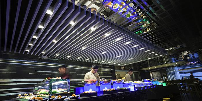 Sushi Bar of Three on Canton, Tsim Sha Tsui, Hong Kong