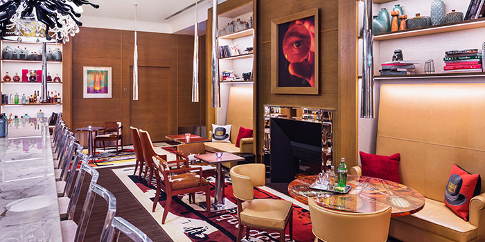 Interior of Tonic in JW Marriott Hotel Singapore South Beach in City Hall, Singapore