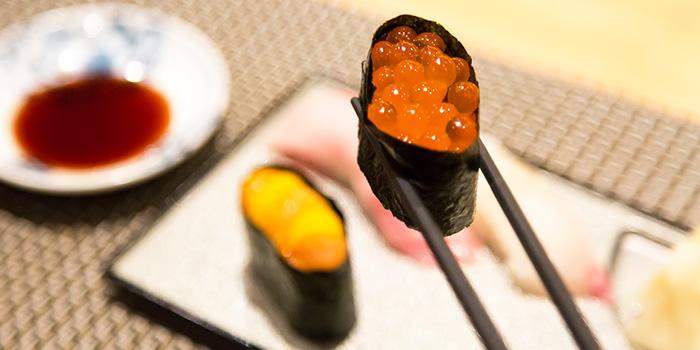 Salmon Roe from Tsukiji Sushi Takewaka in Wisma Atria Shopping Centre in Orchard Road, Singapore
