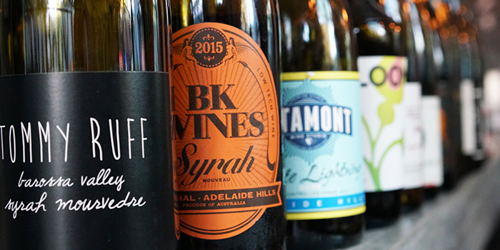 Wines from Montana Singapore in Dhoby Ghaut, Singapore