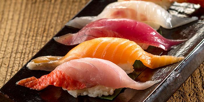 Assorted Sushi from Sushi Yonpachi in Robertson Quay, Singapore