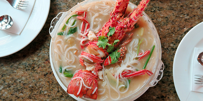 Lobster Bee Hoon from Ah Hoi