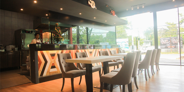 Ambience of Kenny Rogers Roasters in Cherngtalay, Thalang, Phuket, Thailand