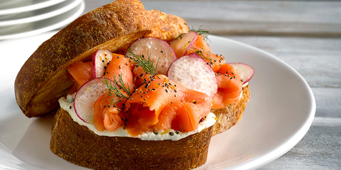 Salmon Sandwich from Angela May Food Chapters in Orchard, Singapore