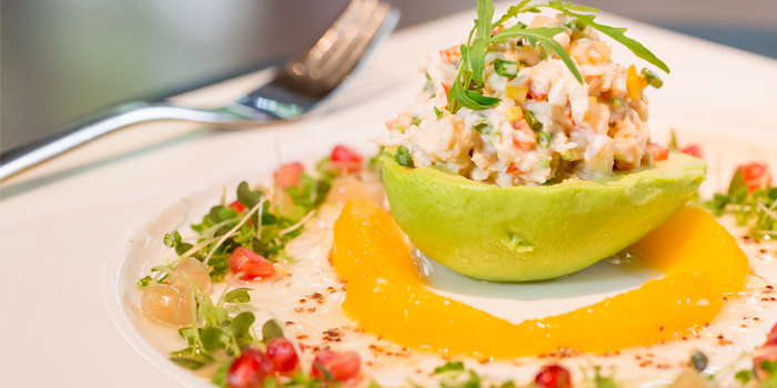 Avocado Crab Salad from Sam