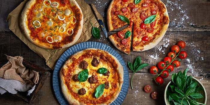 Pizza Spread from Brio at Jurong Point Shopping Centre in Jurong, Singapore