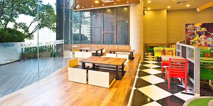 Dining Area of Bushi Cafe at Bugis+ in Bugis, Singapore