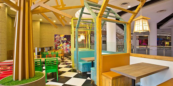 Interior of Bushi Cafe at Bugis+ in Bugis, Singapore