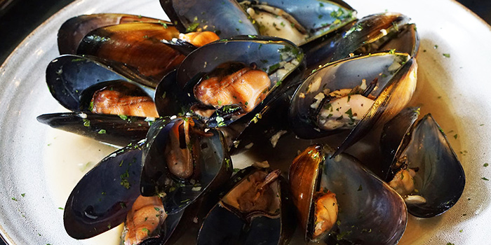 Char Grilled Mussel from Canopy Garden Dining in Bishan, Singapore