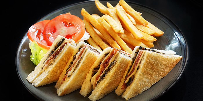 Serrano Ham Sanwich from Canopy Garden Dining in Bishan, Singapore