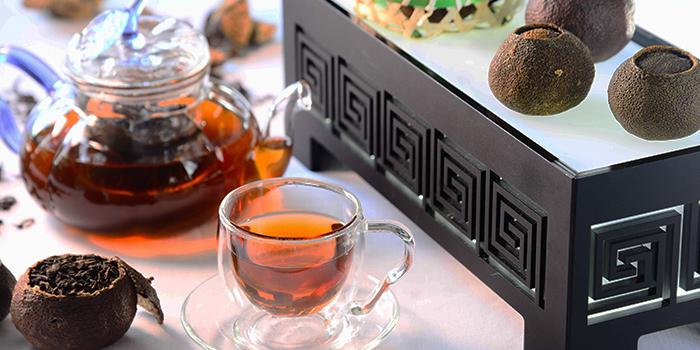 Chinese Tea with Pu Er, Yan Toh Heen, Tsim Sha Tsui East, Hong Kong