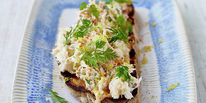 Crab Bruschetta from Jamie