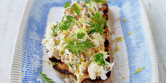 Crab Bruschetta from Jamie