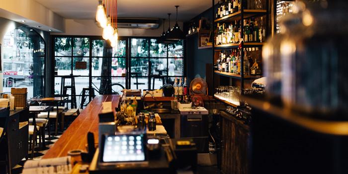 Dining Area from Marcel in Soi Suksavittaya, Bangkok