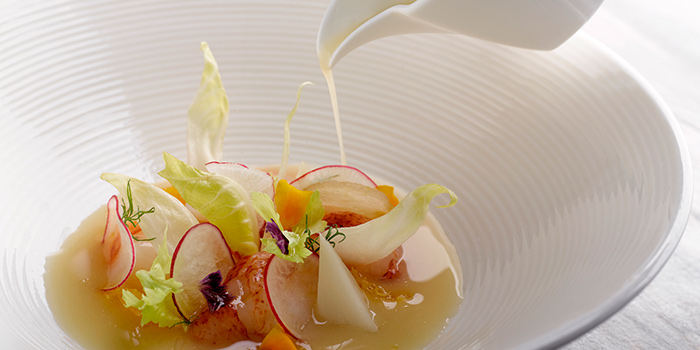 Lightly Smoked Lobster Salad from Dolce Vita at Mandarin Oriental in City Hall, Singapore
