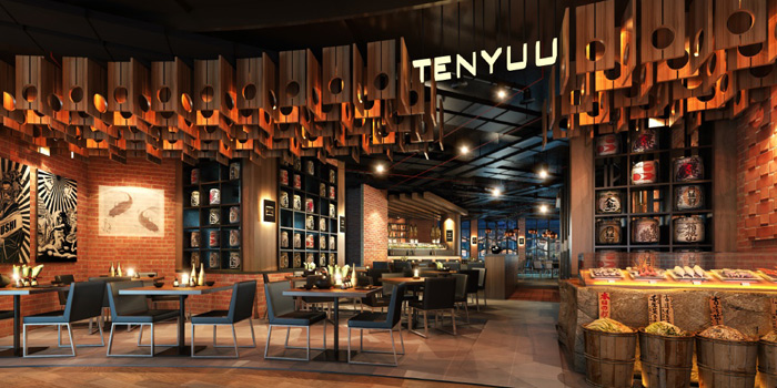 Exterior of Tenyuu Sho at The Emquartier, Bangkok