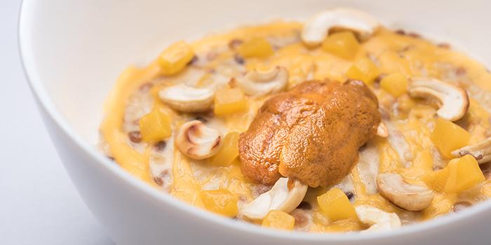 Fregola, Uni Cream, Cashew, Mango from FOO