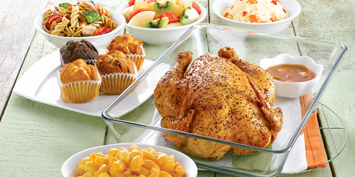 Family Meal from Kenny Rogers Roasters in Cherngtalay, Thalang, Phuket, Thailand