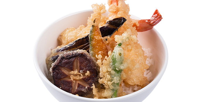 Prawn Tempura Bowl from GOHAN CAFE by KACYO at Aperia Mall in Lavender, Singapore