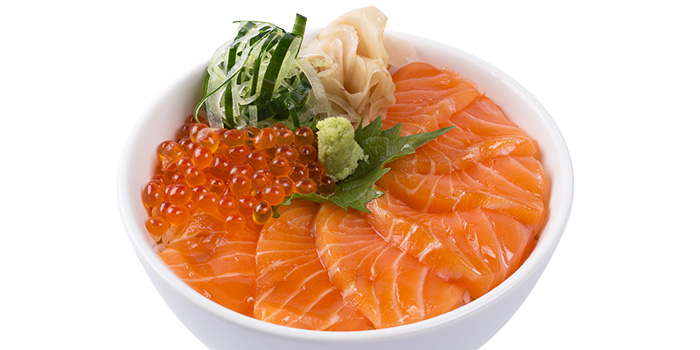 Salmon Ikura Bowl from GOHAN CAFE by KACYO at Aperia Mall in Lavender, Singapore
