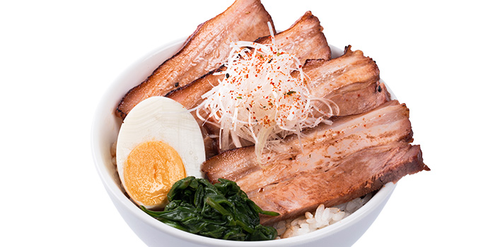 Stewed Miyazaki Pork Belly Bowl from GOHAN CAFE by KACYO at Aperia Mall in Lavender, Singapore