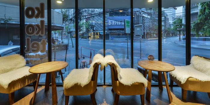 Interior from cafe@kokotel in Surawong Road, Bangkok