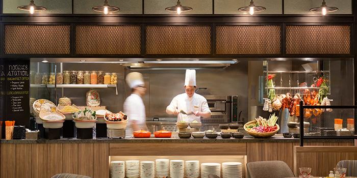 Food Counter at J65 @ Hotel Jen Tanglin at Hotel Jen in Tanglin, Singapore