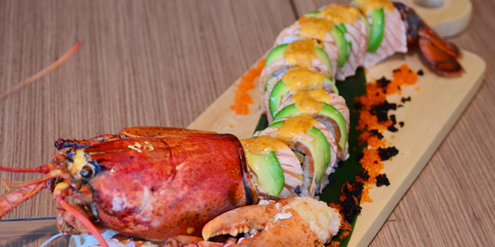 Lobster Tornado Roll from Tenyuu Sho at The Emquartier, Bangkok