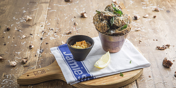 Mushroom Fritti, Jamie's Italian, Tsim Sha Tsui, Hong Kong