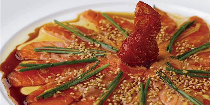 New Style Salmon Sashimi, NOBU InterContinental Hong Kong, Tsim Sha Tsui East, Hong Kong